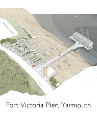 Fort Victoria Pier, Yarmouth